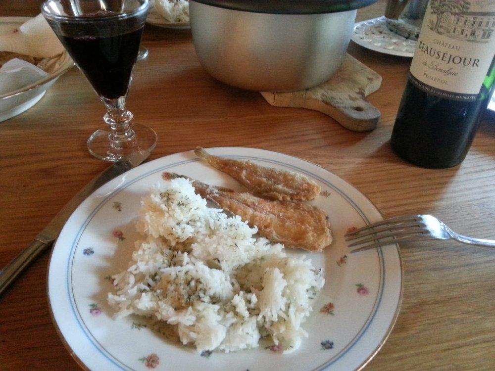 friture de poisson cuisson