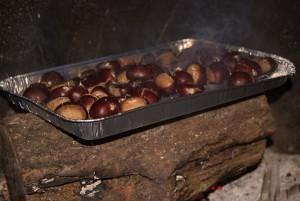 Comment préparer les châtaignes au feux de bois