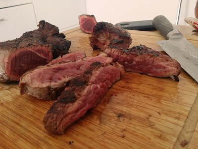 Entrecôtes de bœuf