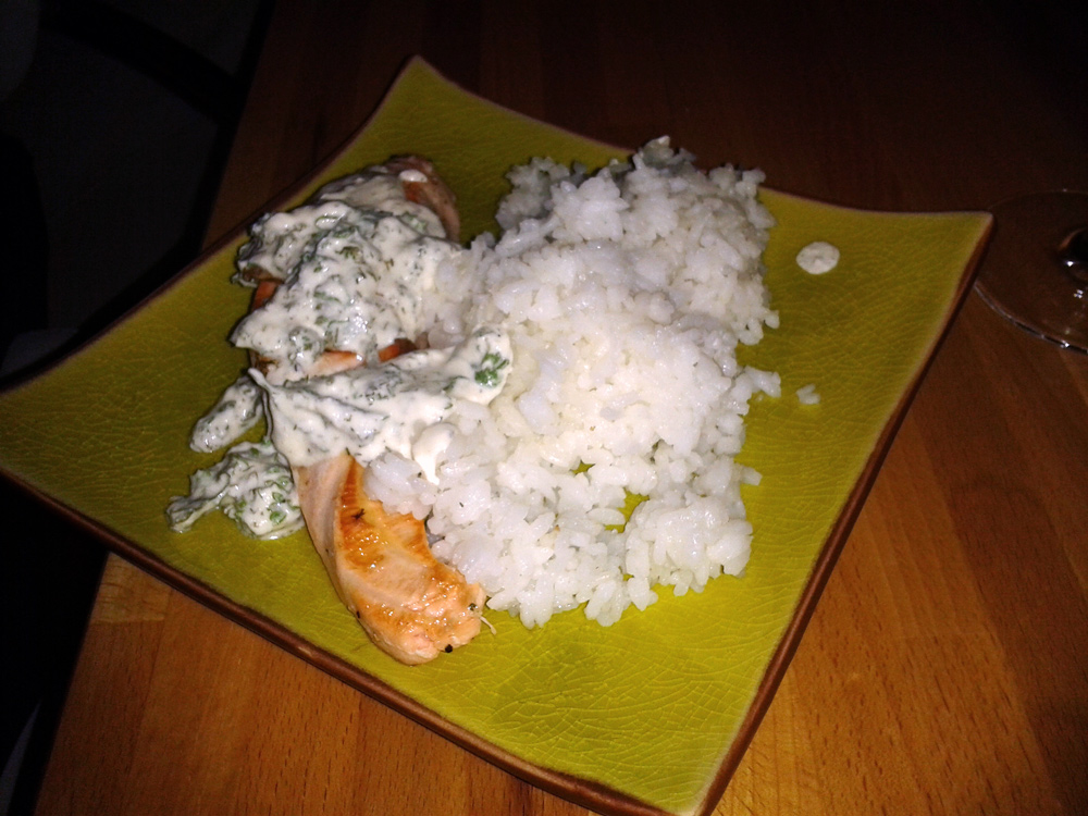 Saumon à la crème et oseille - temps de cuisson du saumon