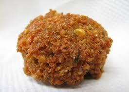 La recette des falafels, croquettes de pois chiche