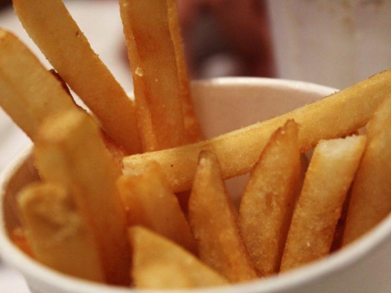 temps de cuisson des frites - frites maison, frites surgelées